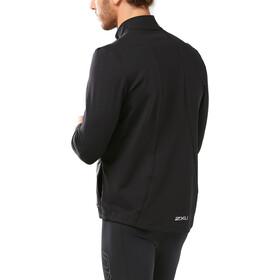 2XU Heat Løbejakke Herrer, black/black